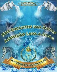 Acadêmicos da Abolição - Logo do Enredo - Carnaval 2016