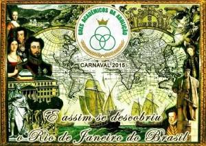 Acadêmicos da Abolição - Logo do Enredo - Carnaval 2015