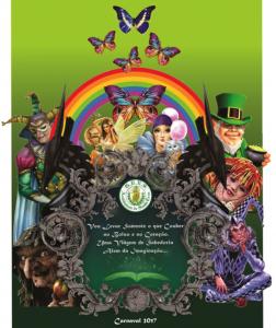Acadêmicos de Santa Cruz - Logo do Enredo - Carnaval 2017