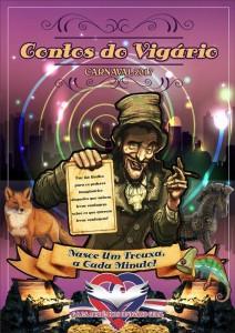 Acadêmicos de Vigário Geral - Logo do Enredo - Carnaval 2017