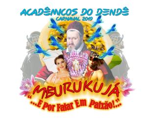 Acadêmicos do Dendê - Logo do Enredo - Carnaval 2019