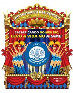 Arame de Ricardo - Logo do Enredo - Carnaval 2016