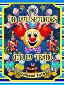 Arranco do Engenho de Dentro - Logo do Enredo - Carnaval 2015