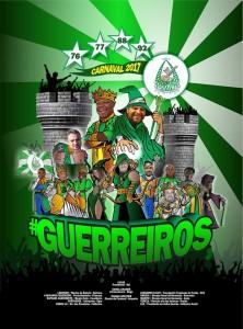Arrastão de Cascadura - Logo do Enredo - Carnaval 2017