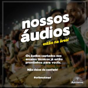Audios ao Vivo 2016 - Ensaios Tecnicos
