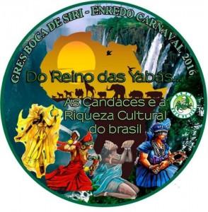 Boca de Siri - Logo do Enredo - Carnaval 2016