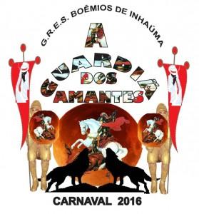 Boêmios de Inhaúma - Logo do Enredo - Carnaval 2016