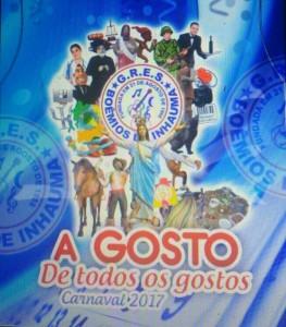Boêmios de Inhaúma - Logo do Enredo - Carnaval 2017