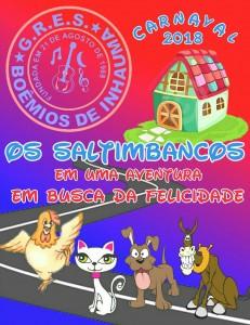 Boêmios de Inhaúma - Logo do Enredo - Carnaval 2018
