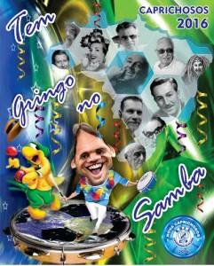 Caprichosos de Pilares - Logo do Enredo - Carnaval 2016