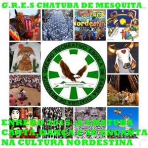 Chatuba de Mesquita - Logo do Enredo - Carnaval 2015