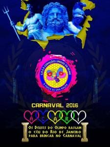 Corações Unidos do Favo de Acari - Logo do Enredo - Carnaval 2016