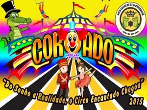 Coroado de Jacarepaguá - Logo do Enredo - Carnaval 2015
