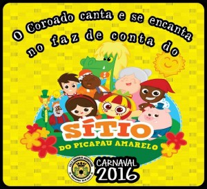 Coroado de Jacarepaguá - Logo do Enredo - Carnaval 2016