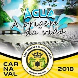 Coroado de Jacarepaguá - Logo do Enredo - Carnaval 2018