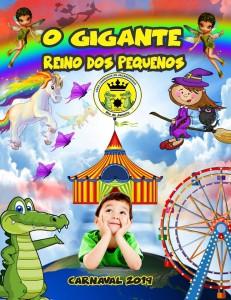 Coroado de Jacarepaguá - Logo do Enredo - Carnaval 2019