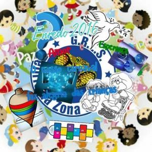 Delírio da Zona Oeste - Logo do Enredo - Carnaval 2016
