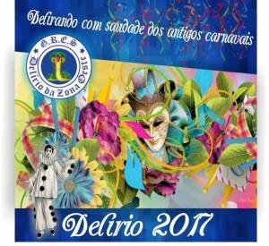 Delírio da Zona Oeste - Logo do Enredo - Carnaval 2017