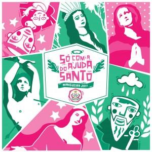 Estação Primeira de Mangueira - Logo do Enredo - Carnaval 2017