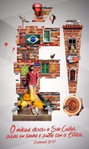 Estácio de Sá - Logo do Enredo - Carnaval 2017