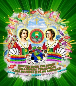 Flor da Mina - Logo do Enredo - Carnaval 2018