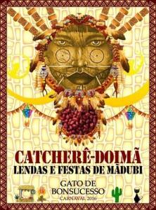 Gato de Bonsucesso - Logo do Enredo - Carnaval 2016