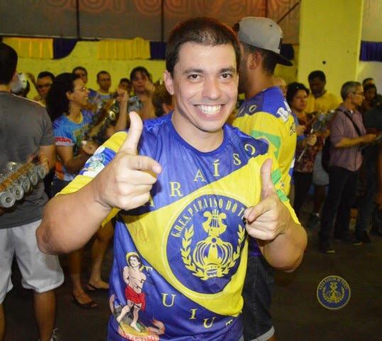 Ricardinho, mestre de bateria da Paraíso do Tuiuti (Foto: Eduardo Holanda)