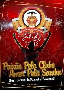 Imperadores Rubro-Negros - Logo do Enredo - Carnaval 2019