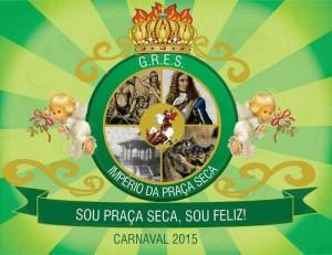 Império da Praça Seca - Logo do Enredo - Carnaval 2015