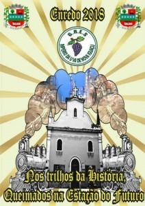 Império da Uva - Logo do Enredo - Carnaval 2018