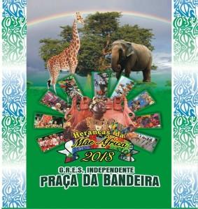 Independente da Praça da Bandeira - Logo do Enredo - Carnaval 2018