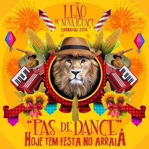 Leão de Nova Iguaçu - Logo do Enredo - Carnaval 2016