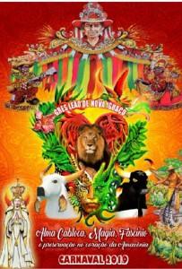 Leão de Nova Iguaçu - Logo do Enredo - Carnaval 2019