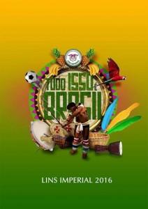 Lins Imperial - Logo do Enredo - Carnaval 2016