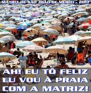 Matriz de São João de Meriti - Logo do Enredo - Carnaval 2017