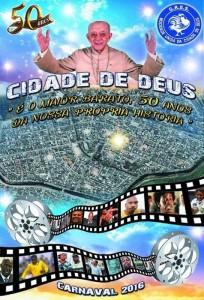 Mocidade Unida da Cidade de Deus - Logo do Enredo - Carnaval 2016