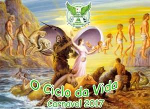 Mocidade de Vicente de Carvalho - Logo do Enredo - Carnaval 2017