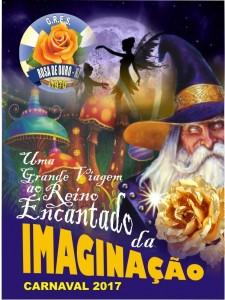 Rosa de Ouro - Logo do Enredo - Carnaval 2017