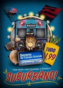 Sereno de Campo Grande - Logo do Enredo - Carnaval 2017