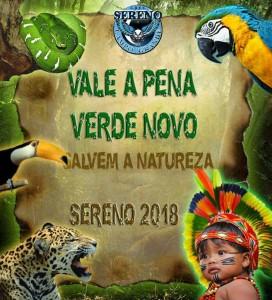 Sereno de Campo Grande - Logo do Enredo - Carnaval 2018