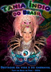 Tupy de Braz de Pina - Logo do Enredo - Carnaval 2016