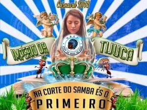 Tupy de Braz de Pina - Logo do Enredo - Carnaval 2018