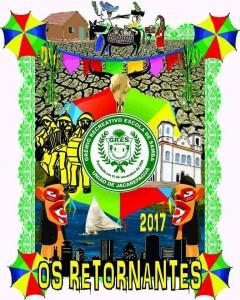 União de Jacarepaguá - Logo do Enredo - Carnaval 2017