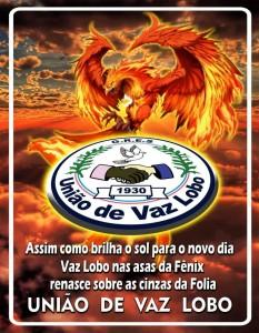 União de Vaz Lobo - Logo do Enredo - Carnaval 2017