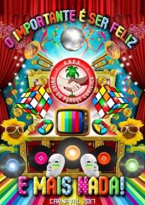 União do Parque Curicica - Logo do Enredo - Carnaval 2017