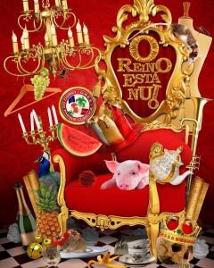União do Parque Curicica - Logo do Enredo - Carnaval 2018