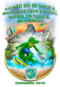 Unidos da Barra da Tijuca - Logo do Enredo - Carnaval 2019
