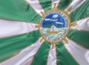 Unidos da Costa Verde - Bandeira