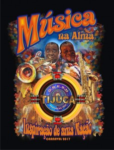 Unidos da Tijuca - Logo do Enredo - Carnaval 2017