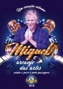 Unidos da Tijuca - Logo do Enredo - Carnaval 2018